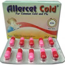 Allercet cold for common cold and flu