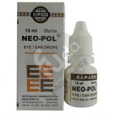 Neo pol sterile eye and ear drops