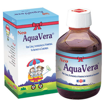 Neo aqua vera for colic, flatulence and vomiting in infants and children