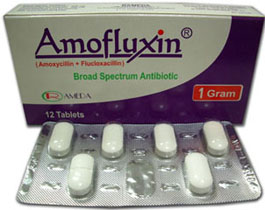 Amofluxin broad spectrum antibiotic