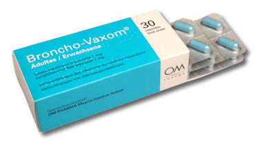Broncho vaxom for prevention of recurrent infections of the airways