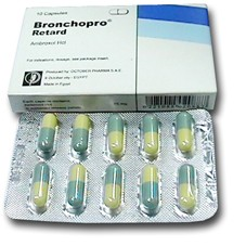 Bronchopro mucoregulatory treatment