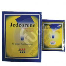 Jedcorene for urinary tract infections