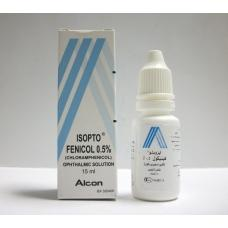 Isopto fenicol sterile ophthalmic solution