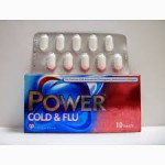Power cold and flu for the treatment of common cold and inflnenza