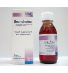Bronchotec for cough caused by minor throat and to help loosen phlegm