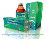 Rhinostop for the relief of nasal congestion and nose or throat and itchy watery eyes due to common cold