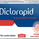 Diclorapid for treatment of primary dysmenorrhea and for relief of mild to moderate pain