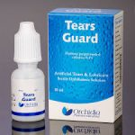 Tears guard for offers tears like lubrication for the relief of dry eye and eye irritation associated