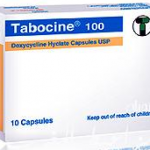 Tabocine 100 for infections caused by micro organisms sensitive to doxycycline acute pyelonephritis cystitis and urethritis