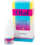 Otal ear drops for otitis externa