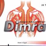 Dimra to relieve pain in musculo skeletal conditions associated with muscle spasm and trauma
