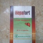 Hepafort soft gelatin capsules for acute and chronic liver diseases